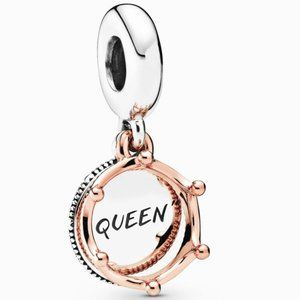 Pandora Queen & Regal Crown Dangle Charm